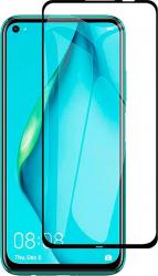Folie din sticla securizata cu lipici pe toata suprafata pentru Huawei P40 Lite margini negre