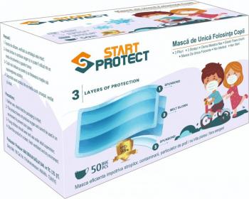 MASCA COPII DE PROTECTIE START PROTECT Masti chirurgicale si reutilizabile