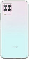 Set Husa compatibila cu Huawei P40 Lite TPU Transparenta + Folie 5D Premium Glass Neagra