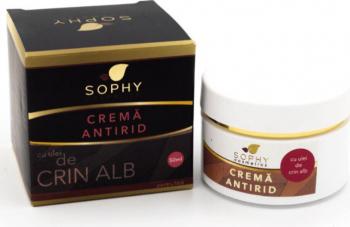 Crema antirid Sophy Cosmetics fata si corp 50 ml