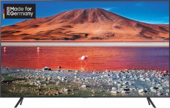 Televizor LED Samsung GU55TU7199UXZG Smart TV 4K UHD Alexa Crystal Display 138 cm negru