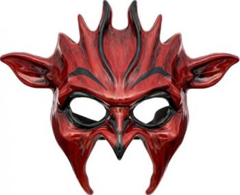 Masca aspect malefic pentru petrecere horror Halloween multicolor Decoratiuni petreceri