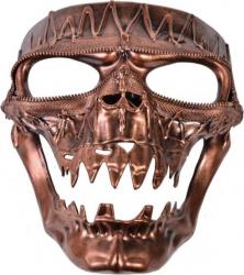 Masca deghizare schelet cap de mort imitatie fier si sarma pentru costumatie de Halloween Decoratiuni petreceri