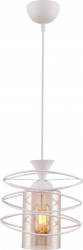 Lustra Fiber 1 bec Begusa E 27 60 W Alb Corpuri de iluminat