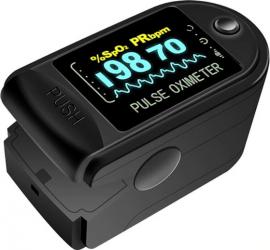 Pulsoximetru digital iUni H8 Indica nivelul de saturatie a oxigenului din sange Rata pulsului