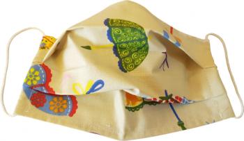 Masca protectie refolosibila bumbac umbrelute colorate Masti chirurgicale si reutilizabile