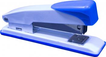 Capsator metalic mediu EVOffice 24/6 20 pagini albastru