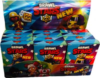 Kit master 12 pachete 300 de cartonase Brawl Stars