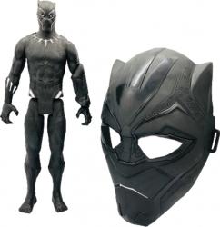 Masca cu figurina black panther isp20 Jucarii
