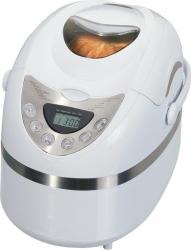 Masina de facut paine IQ EX-2165 600W 900 g 12 programe Timer Alb Masini de paine