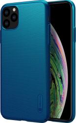 Husa iPhone 11 Pro Nillkin Super Frosted Blue Huse Telefoane