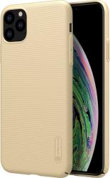 Husa iPhone 11 Pro Nillkin Super Frosted Gold Huse Telefoane