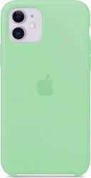 Husa iPhone 11 Pro Max silicon verde Huse Telefoane
