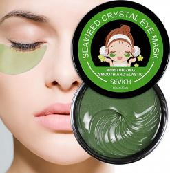 Masca hydrogel cu alge marine pentru ochi anticearcane hidratare intensa 60 bucati Creme si demachiante
