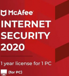 McAfee Internet Security 2020 - 1 Device 1 Year