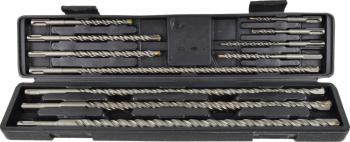 Set 11 burghie pentru beton SDS PLUS 5-20mm GEKO G40038 Accesorii masini de gaurit