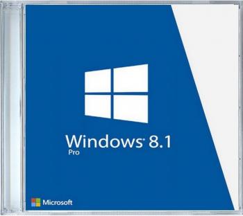 Windows 8.1 Professional 32/64 bit OEM DVD