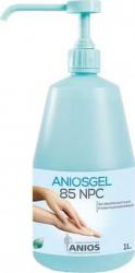 Dezinfectant tegumente Aniosgel 85 NPC 1 litru biocid virucid Gel antibacterian