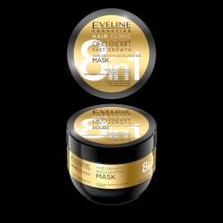 Masca de par Eveline Cosmetics 8 in 1 Hair Clinic oleo expert pentru crestere rapida 300 ml Masca