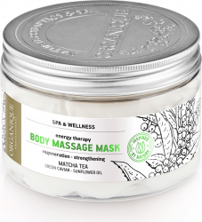 Masca pentru masaj corporal Feel-Up cu ceai Matcha si caviar verde Organique 450 ml Lotiuni, Spray-uri, Creme