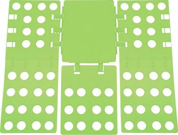 Plansa pentru impaturit haine shirt folder reglabil pliabil 67x56 cm verde