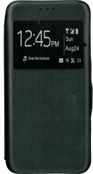 Husa de protectie tip carte 360 Window EuroCELL pentru Samsung Galaxy A21s negru Huse Telefoane