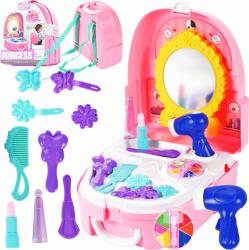 Masa de toaleta cu accesorii pentru fetite Malplay 107989