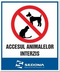 Placuta Accesul animalelor interzis Articole protectia muncii