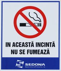 Placuta In aceasta incinta nu se fumeaza Articole protectia muncii