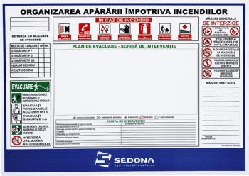 Semn PSI - Plan organizare impotriva incendiilor Articole protectia muncii