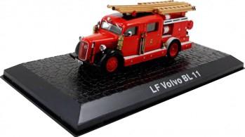 Macheta de colectie masina de pompieri LF Volvo BL 11 rosu scara 1 72 Jucarii