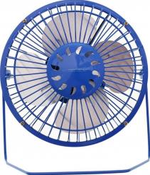 Ventilator USB YUGO EA149B-DC din metal 20x17x8cm albastru Ventilatoare