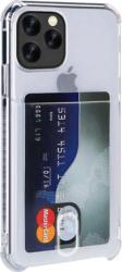 Husa Apple iPhone 11 Pro TPU Antishock Buzunar pentru card Transparenta Huse Telefoane