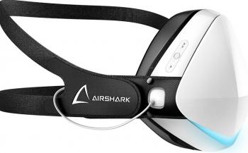 Masca protectie Smart Luxury alba ventilatie filtru cu 4 straturi 2 filtre incluse