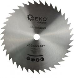 Disc circular pentru lemn 400x32x40T Geko G00066