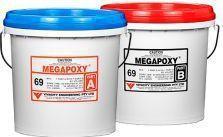 Adeziv epoxidic bicomponent Megapoxy 69 1L gel semitransparent Accesorii materiale de constructie