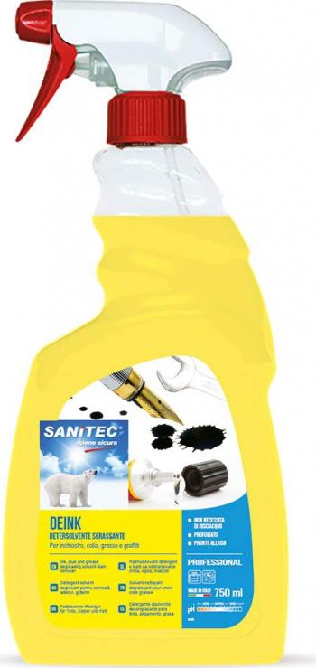 Detergent profesional solvent Sanitec Deink 750 ml