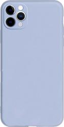 Husa Candy Silicone pentru iPhone 11 Pro Protectie camera Interior de microfibra Ultra subtire Flexibila Lila Huse Telefoane