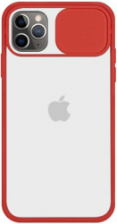 Husa G-Tech CamShield carcasa de protectie spate si camera foto Apple iPhone 11 Pro Max Red Huse Telefoane