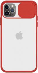 Husa G-Tech CamShield carcasa de protectie spate si camera foto Apple iPhone 11 Pro Red Huse Telefoane