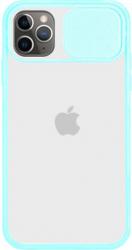 Husa G-Tech CamShield carcasa de protectie spate si camera foto Apple iPhone 11 Pro Sky Blue Huse Telefoane