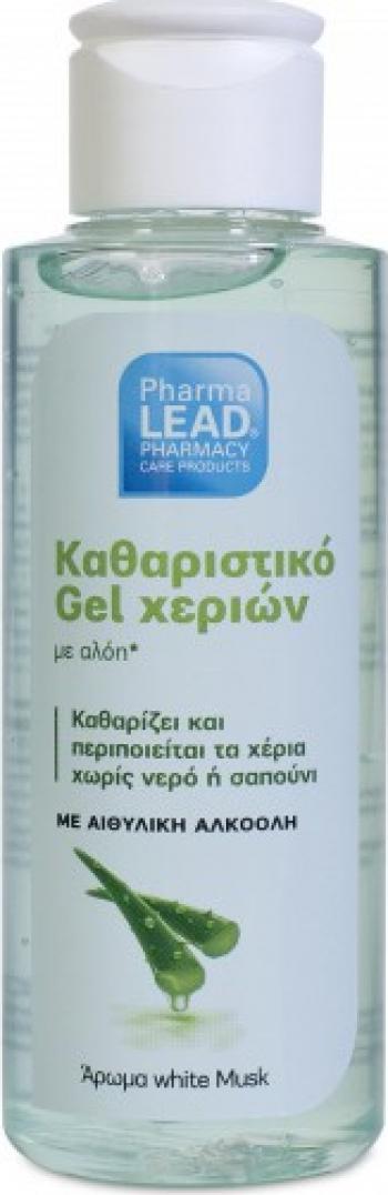 Gel dezinfectant aloe vera natural PharmaLEAD Vitorgan 100ml Gel antibacterian