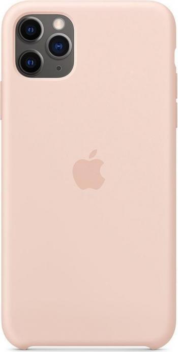 Husa de protectie Apple pentru iPhone 11 Pro Max Silicon Pink Sand Huse Telefoane