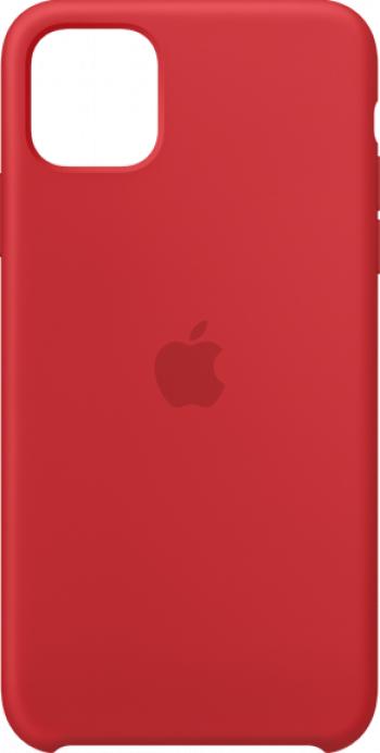 Husa de protectie Apple pentru iPhone 11 Pro Max Silicon Red Huse Telefoane