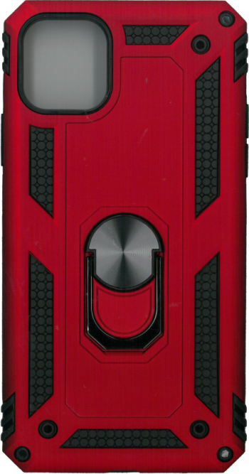 Husa protectie spate anti-shock iring rosu pentru iPhone 11 Pro Huse Telefoane