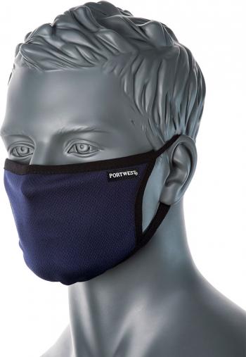 Masca faciala din tesatura anti-microbiana cu 3 straturi Masti chirurgicale si reutilizabile