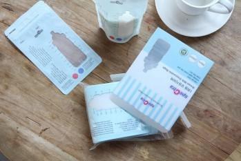 Pungi stocare lapte matern cu fermoar 30 buc. Accesorii alaptare