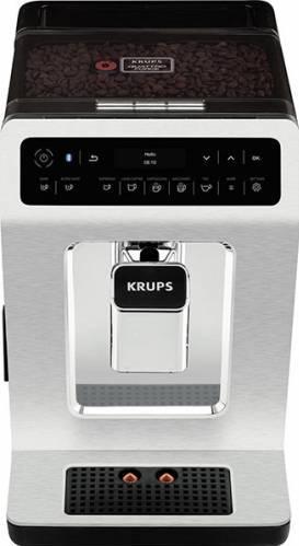 Espressor automat smart KRUPS Evidence EA893C10 Bluetooth 1450W 15 Bari Metal cromat Expresoare espressoare cafea