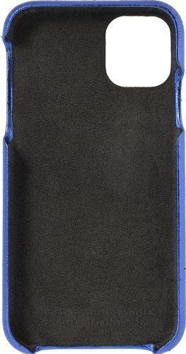 Husa de piele naturala Woop Iphone 11 Pro Christmas albastru Huse Telefoane