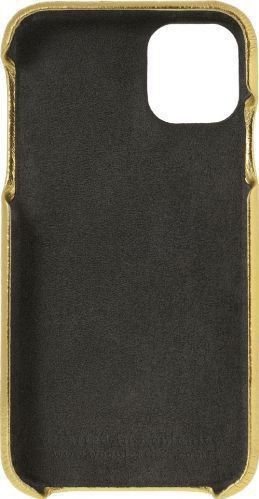 Husa de piele naturala Woop Iphone 11 Pro Christmas auriu Huse Telefoane